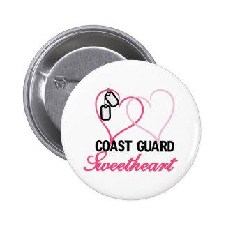 Coast Guard 6 Cm Round Badge