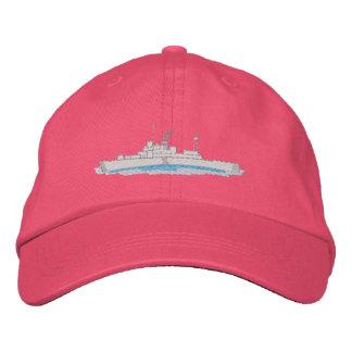 Coast Guard Boat Embroidered Baseball Cap