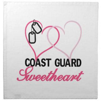 Coast Guard Cloth Napkin