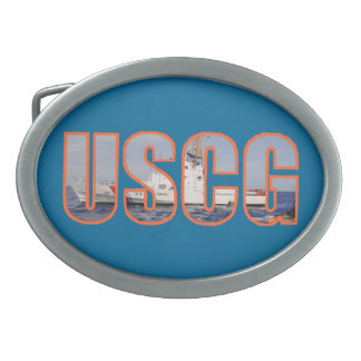 Coast Guard Cutter Belt Buckle