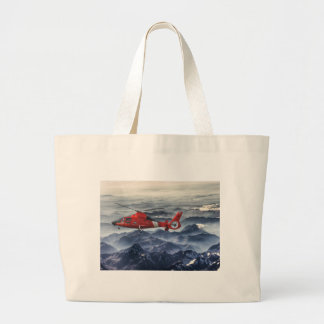 COAST GUARD HELICOPTER CANVAS BAG