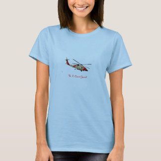 Coast Guard Helicopter, U. S. Coast Guard T-Shirt