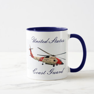 Coast Guard Helicopter, United States, Coast Guard Mug