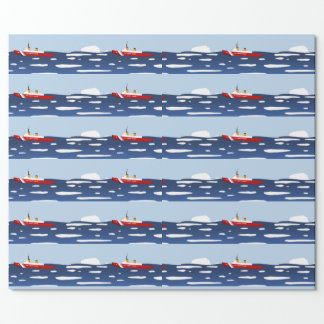 Coast Guard Ice Breaker Wrapping Paper