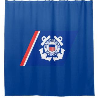 Coast Guard Logo Shower Curtain