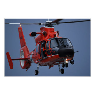 Coast Guard MH-65 Dolphin Poster