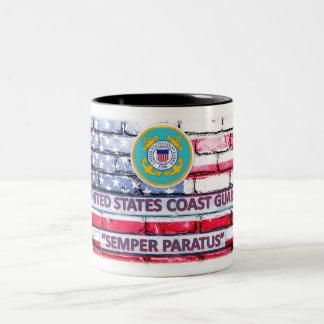 """Coast Guard """"Semper Paratus"""" Coffee Cup"""