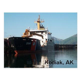 Coast Guard Ship Postcard