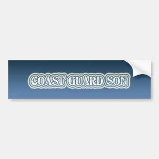 Coast Guard Son Bumper Sticker