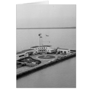 Coast Guard Station at Whiskey Island Card
