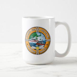 Coast Guard Station Woods Hole Basic White Mug