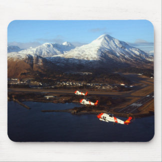 Coast Guard Sunrise in Kodiak, AK Mouse Pad