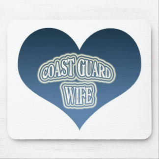 Coast Guard Wife Mouse Pad
