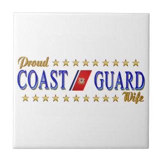 Coast Guard Wife Ceramic Tile