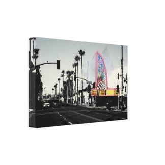 Coast highway canvas print