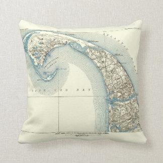 Coast Lines Provincetown Truro and Wellfleet Cushion