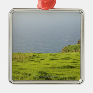 Coast Near Ponta do Pargo, Madeira, Portugal Metal Ornament