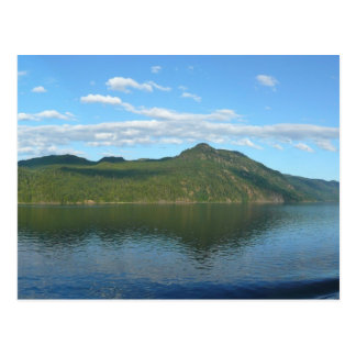 Coast of British Columbia in Scenic Canada Postcard