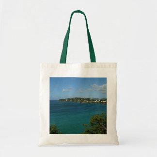 Coast of St. Lucia Caribbean Vacation Photo Tote Bag