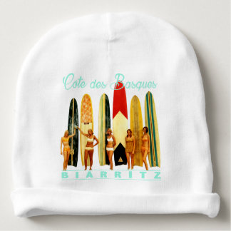Coast of the Biarritz Basques Baby Beanie