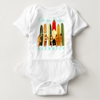 Coast of the Biarritz Basques Baby Bodysuit