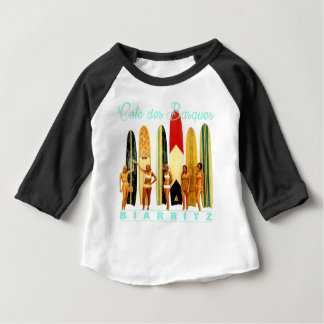 Coast of the Biarritz Basques Baby T-Shirt