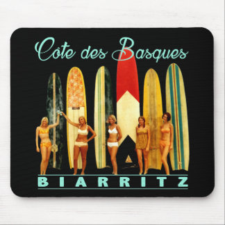 Coast of the Biarritz Basques Mouse Pad