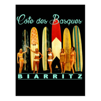 Coast of the Biarritz Basques Postcard