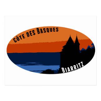 Coast of the Biarritz Basques Postcard