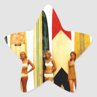 Coast of the Biarritz Basques Star Sticker