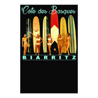 Coast of the Biarritz Basques Stationery