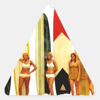 Coast of the Biarritz Basques Triangle Sticker