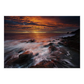 Coast Of The Natural Park Of Cabo De Gata Poster