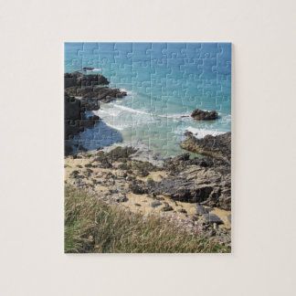 Coast Path near Padstow, Cornwall Jigsaw Puzzle