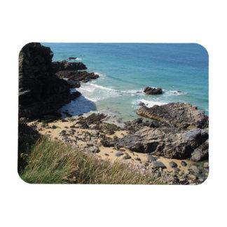 Coast Path nr Padstow, Cornwall Photo Magnet