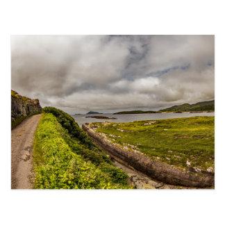 """Coast Road, Ireland"" postcards"