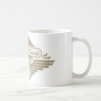 Coast the Coast Classic White Coffee Mug