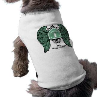 Coast the Coast Dog T-shirt
