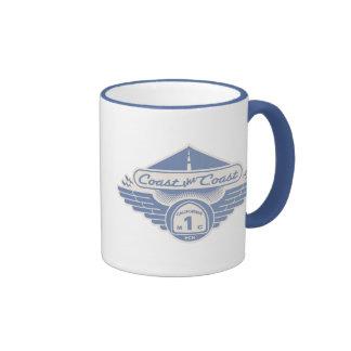Coast the Coast Ringer Coffee Mug