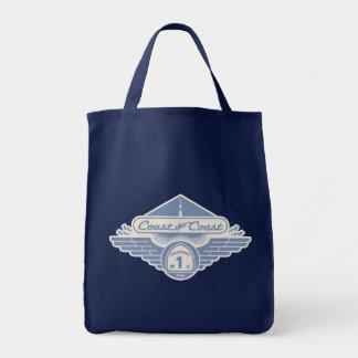 Coast the Coast Tote Bags