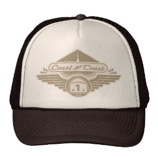 Coast the Coast Trucker Hats