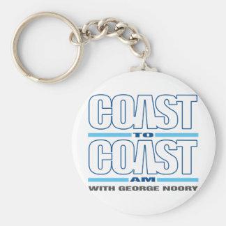 Coast To Coast AM Key Ring