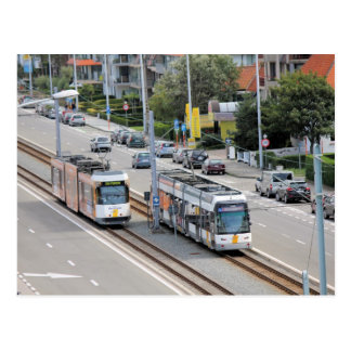 Coast Tram (Belgium) Postcard