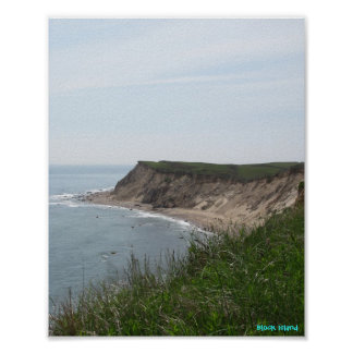 Coastal Block Island, Rhode Island Poster