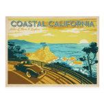 Coastal California Postcard