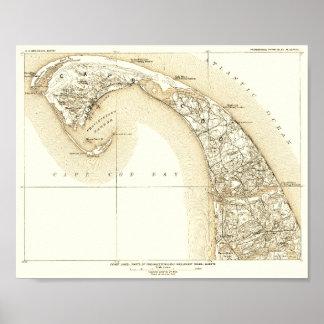 Coastal Cape Cod, Provincetown, Outer Cape 10:8 Poster