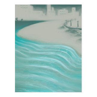 Coastal City Postcard