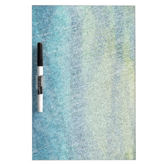 Coastal Colors Abstract Dry Erase Board