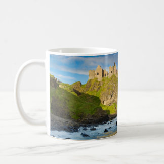 Coastal Dunluce castle, Ireland Coffee Mug