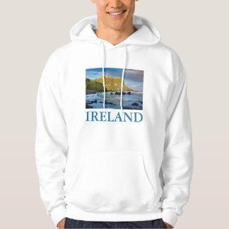 Coastal Dunluce castle, Ireland Hoodie